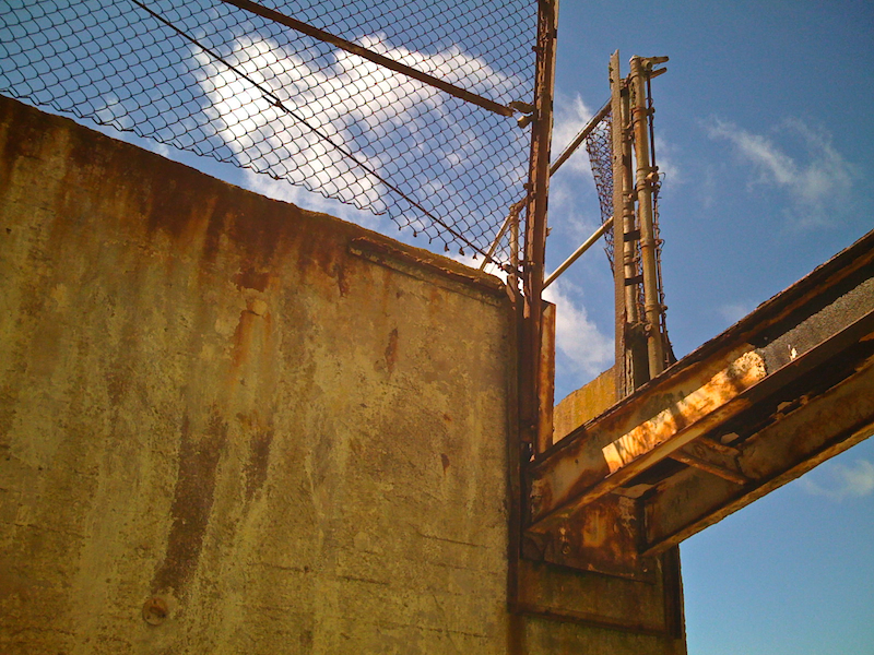 Rusty Bridge to Nowhere